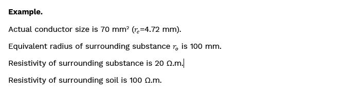 Example Formulae - How to model conductors surrounded by additional substance using SafeGrid