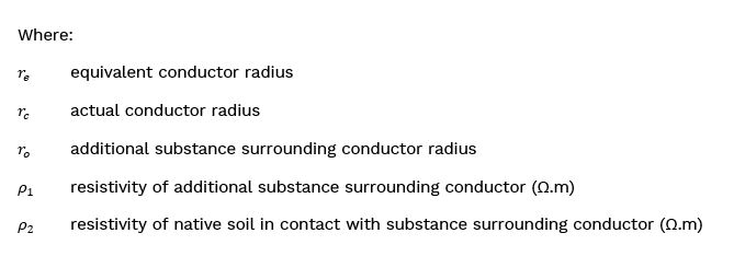 Where Formulae - How to model conductors surrounded by additional substance using SafeGrid