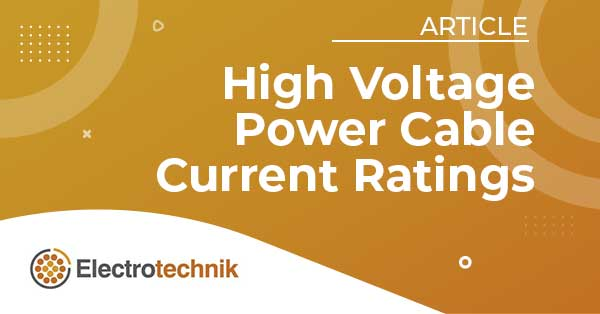 elek articles hv power cables - Effects of Controlled Backfills on Cable Current Ratings