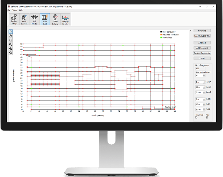 safegrid features 1 738x585 - SafeGrid Earthing Software