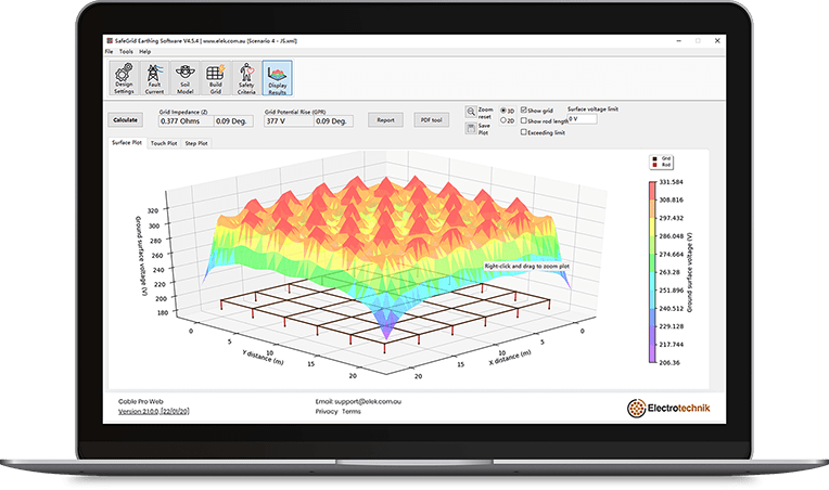 safegrid features 2 - SafeGrid Earthing Software