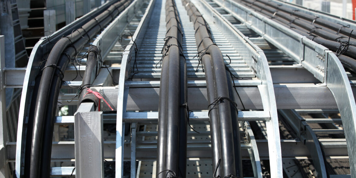 ELEK Software Power cables in trefoil on cable ladder 1170x585 - Emergency and Cyclic Ratings of HV Cables